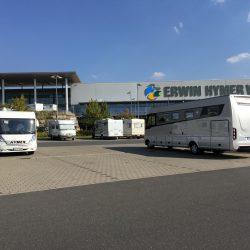 "Motorhome Tour ""Germany's Romantic Road"", Wertheim Erwin Hymer World"
