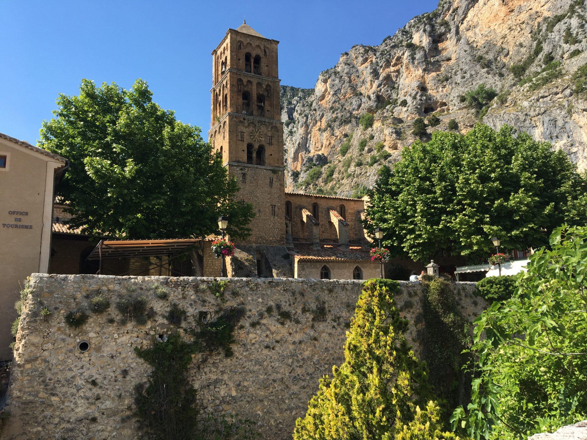 Church Moustiers Sainte Marie