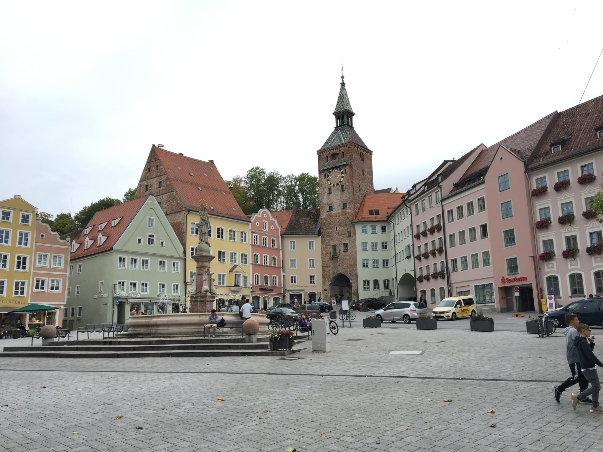 Market square Landsberg am Lech
