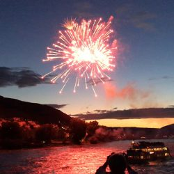 Rhine in Flames fireworks 2016