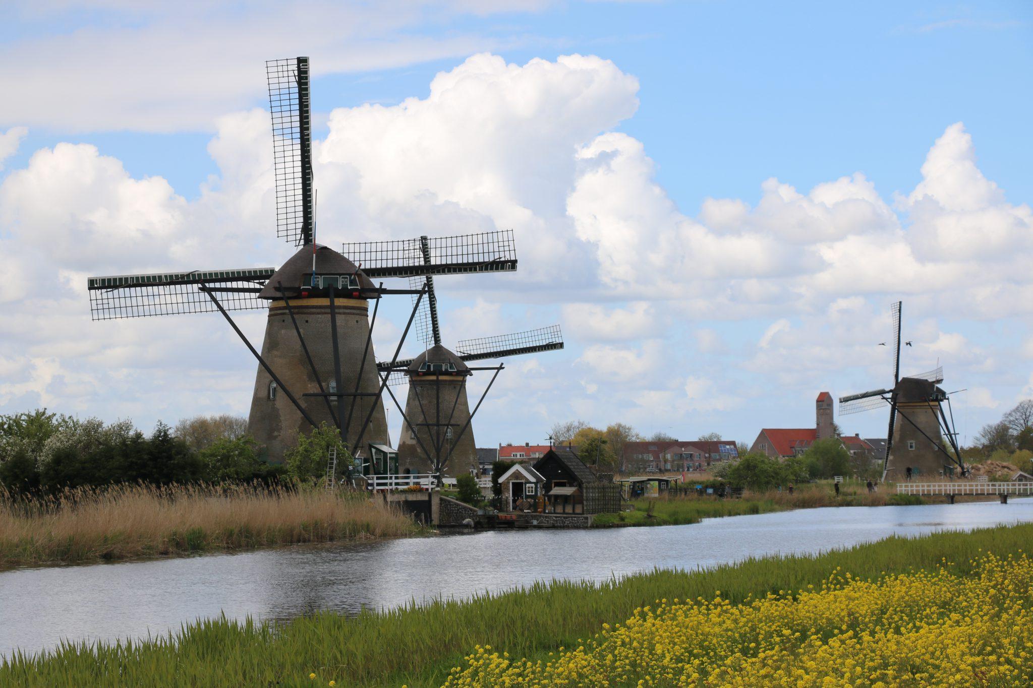Kinderdijk Windmills And Royal Delft Pottery
