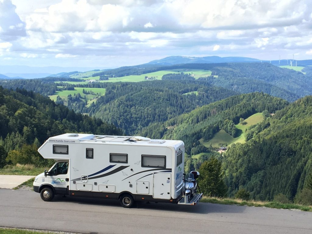 Escorted Motorhome Tours In Europe