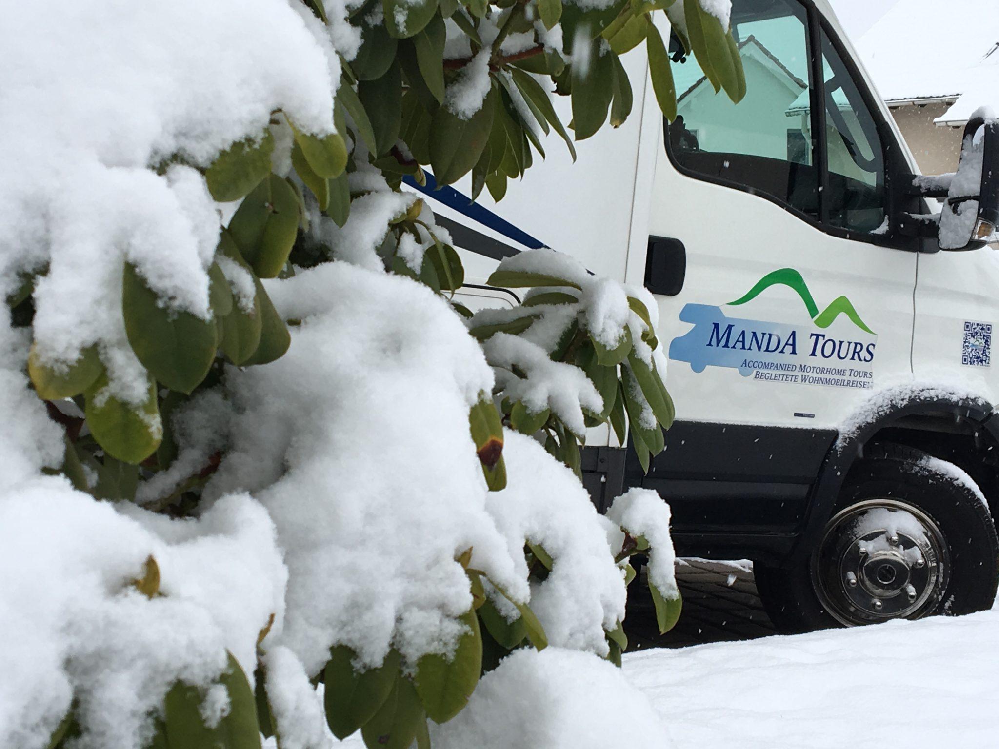 Manda Tours in Winter