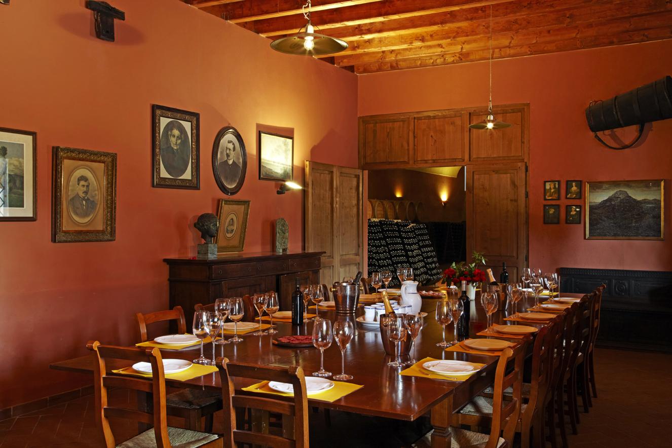 Dinner room Franciacorta