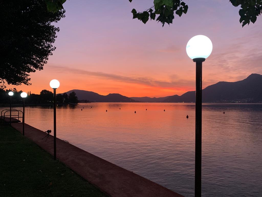 "Sunset Lake Iseo ""Impressive Italian Lakes & Cities"" 2019"