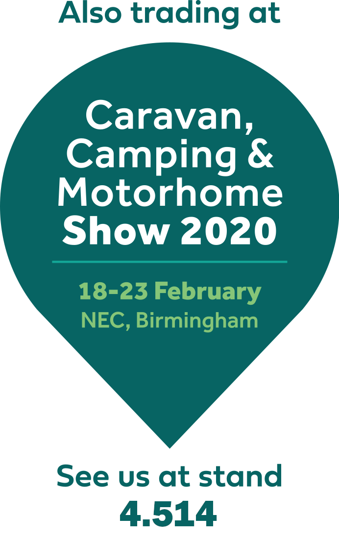 Caravan, Camping & Motorhome Show 2020, 18-23 February NEC, Birmingham